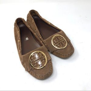 3bfec7edc17 Tory Burch Shoes - Tory Burch Alexandra suede moccasins with fringe